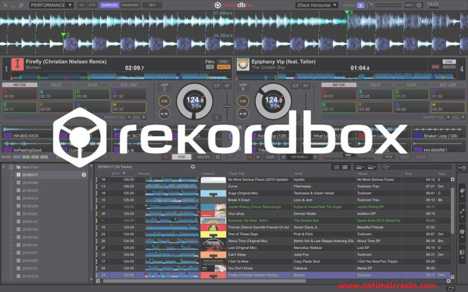 Rekordbox DJ 6.1.1 Crack With License Key Free Download & Activation Code