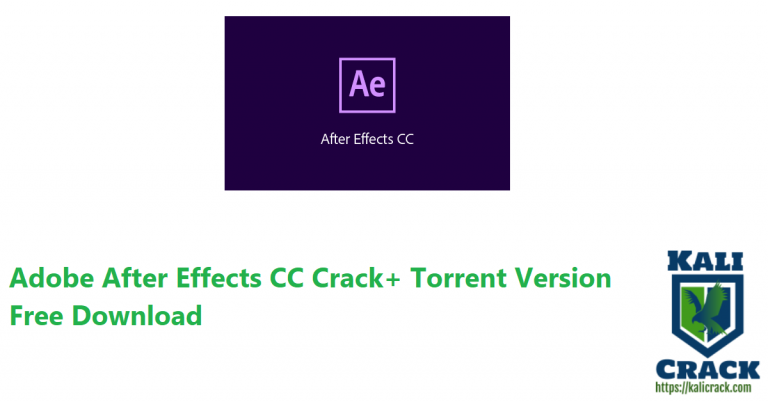 Adobe After Effects CC 2020 (18.4.1.4) Crack+ Torrent Free Download