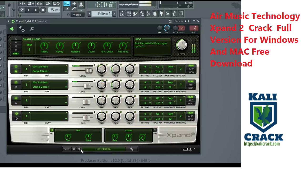 Air Music Technology Xpand 2 Crack Full Version For Windows And MAC Free Download