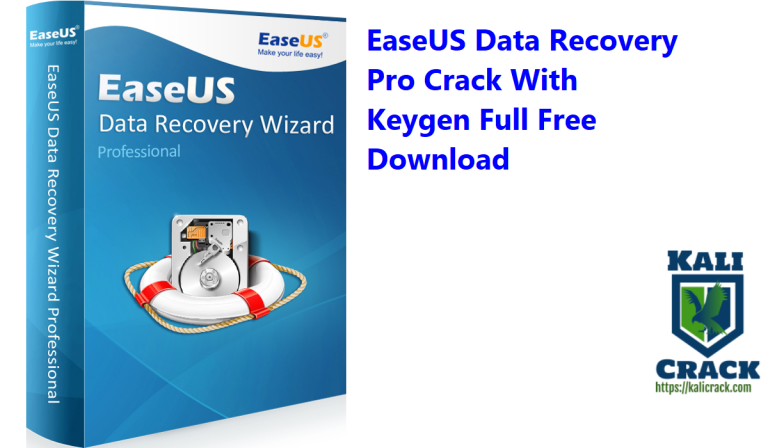 EaseUS Data Recovery Pro 14.2 Crack With Keygen Full Free Download