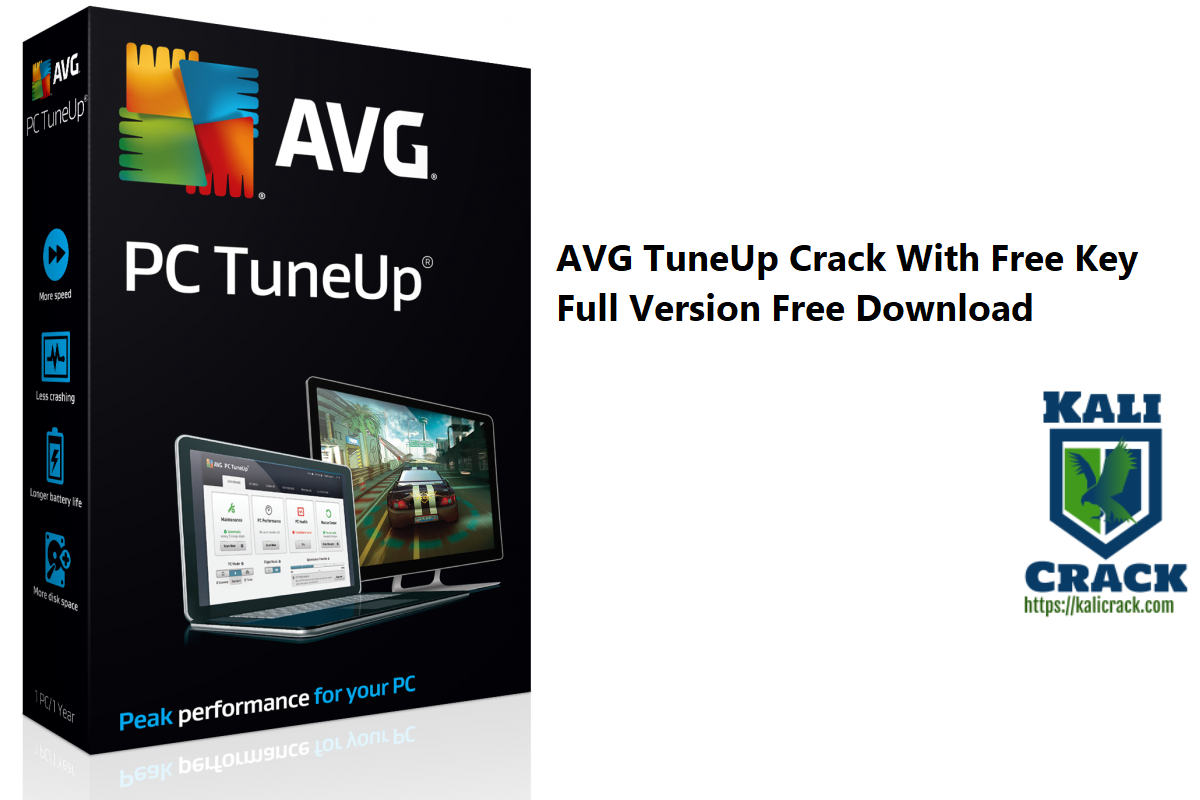 AVG TuneUp Crack With Free Key Full Version Free Download