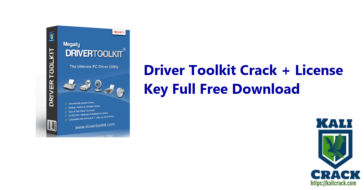 Driver Toolkit Crack + License Key Full Free Download