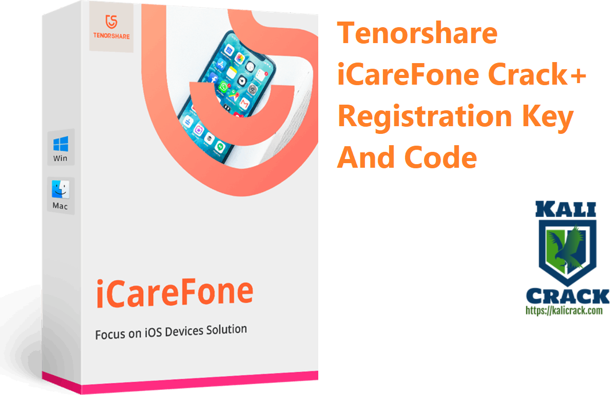 Tenorshare iCareFone Crack+ Registration Key And Code