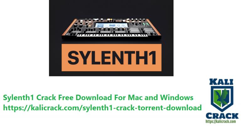 Sylenth1 v3.071 Full Crack With Torrent Version